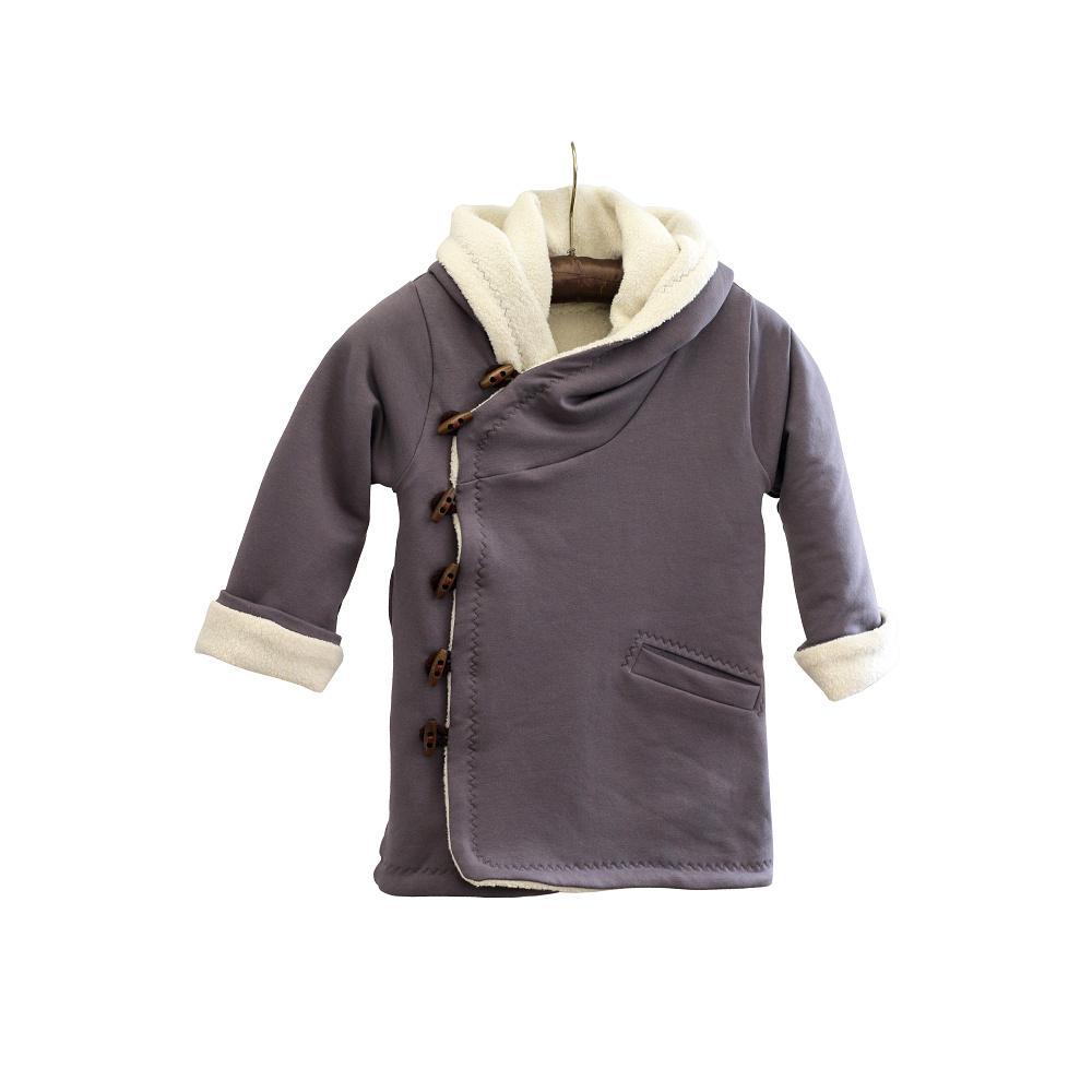 Jarní kabátek s beránkem - Riska (2)