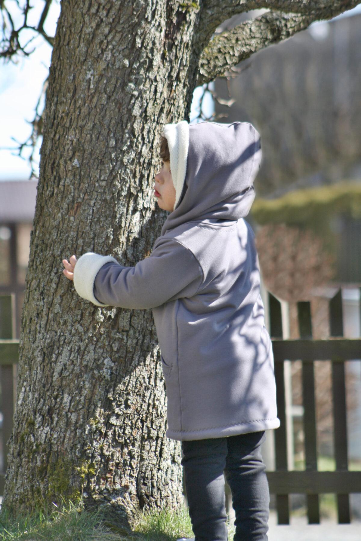 Jarní kabátek s beránkem - Riska (5)
