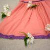 Letní šaty z modalu - růžové Riska (4)