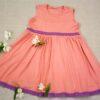Letní šaty z modalu - růžové Riska (5)