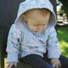Oboustranný kabátek pro miminka - Riska (10)