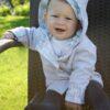Oboustranný kabátek pro miminka - Riska (7)
