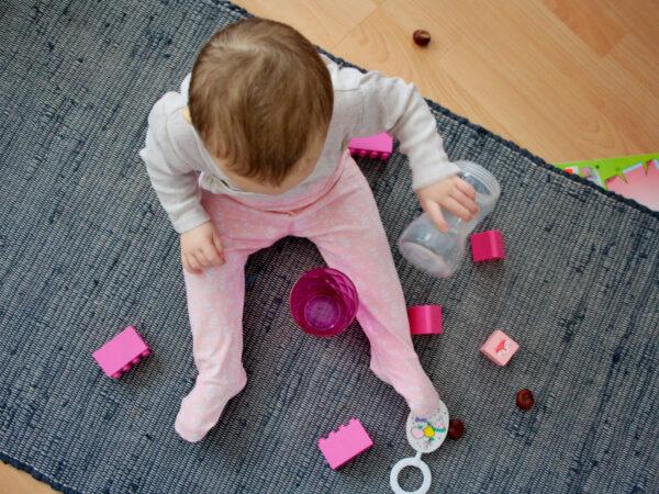 Polodupačky růžové se vzorem Riska