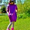 Teplákové šaty - Riska (1)